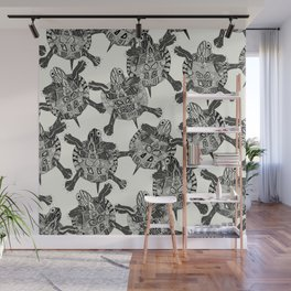 turtle party Wall Mural