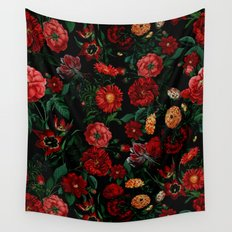 Botanical Garden Wall Tapestry