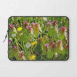 MY WEEDY SPRINGTIME PATH Laptop Sleeve