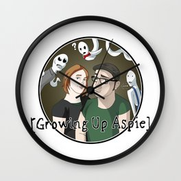 Growing Up Aspie - Kandace and Nathan Wall Clock