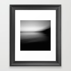Flow (B&W) Framed Art Print