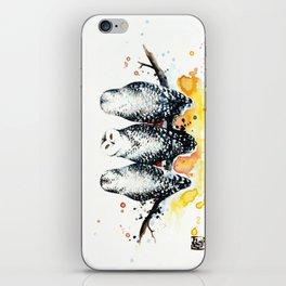 Owly sunset iPhone Skin