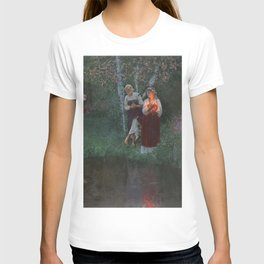 Ivan Kupala. Guessing at the wreaths. T-shirt