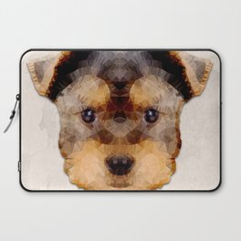 Abstract Yorkshire Terrier Laptop Sleeve