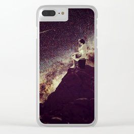 Surrender to a Miracle Clear iPhone Case