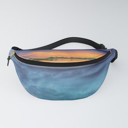 Sunset on the Lake Fanny Pack