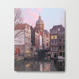 Amsterdam 3 Metal Print