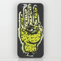 zombie iPhone & iPod Skins featuring Zombie by Mila Spasova