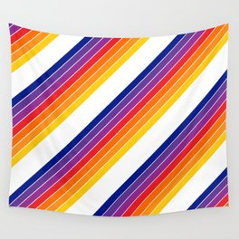 Rainbow Candy Stripe Wall Tapestry