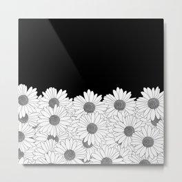 Daisy Boarder Metal Print
