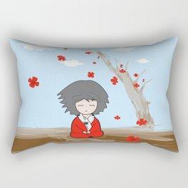 Zen state of mind Rectangular Pillow