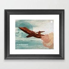 Starfighter Framed Art Print