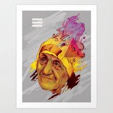 Madre Teresa Art Print