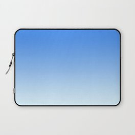 Sky Blue Gradient Laptop Sleeve
