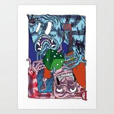 DICE VICE ! Art Print