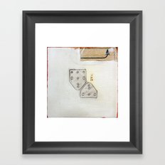 Number Two Framed Art Print