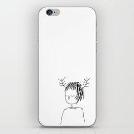 antlers 1 iPhone Skin