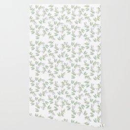 Jasmine Flower Illustration Wallpaper
