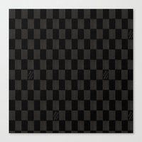 lv Canvas Prints featuring LV by Beauti Asylum