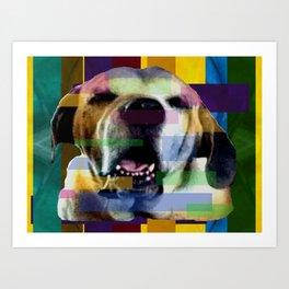 Mastiff Smile Art Print