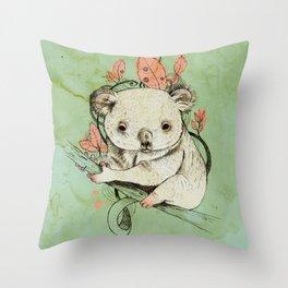 Koala! Throw Pillow