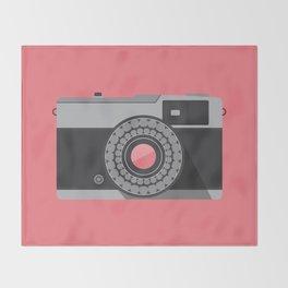 Camera Series: Olympus Trip 35 Throw Blanket