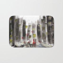 City Sketch Bath Mat
