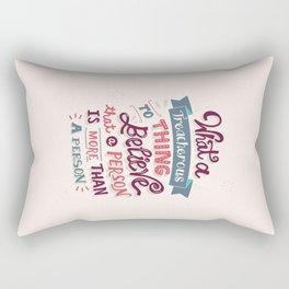 Paper Towns: Treacherous Thing Rectangular Pillow