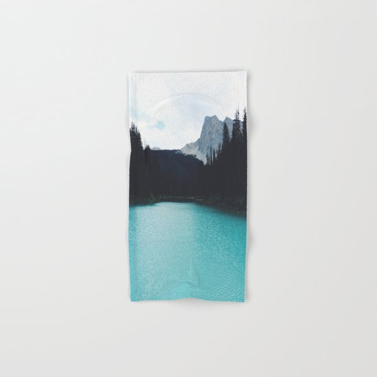 Moody Emerald Lake Hand & Bath Towel