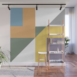 Geometric Trendy Abstract Modern Art Design Wall Mural