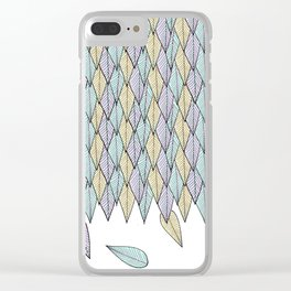 Feather Weather Clear iPhone Case