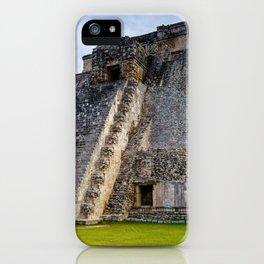 Uxmal Yucatan Mexico iPhone Case