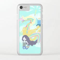 Time for an Adventure Clear iPhone Case