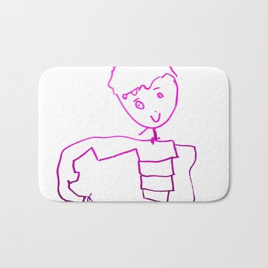 The Little Prince | Elisavet first drawing Bath Mat