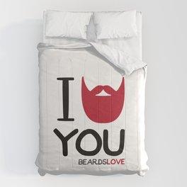 I BEARD YOU Comforters