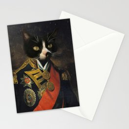 Admiral Kitty Stationery Cards