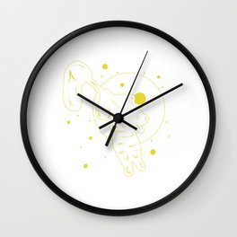 Are You A Fan Of Astronomy? An Astronaut Dreamer? Here's An Antronaut T-shirt Saying Catching Stars Wall Clock