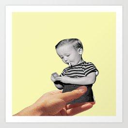 Don't Smoke Kid Art Print
