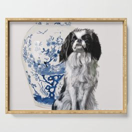 Japanese Chin Serving Tray