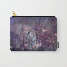 Cracked Purple Geode Texture Carry-All Pouch