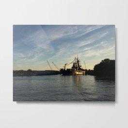 Wilmington, North Carolina - USS North Carolina Metal Print