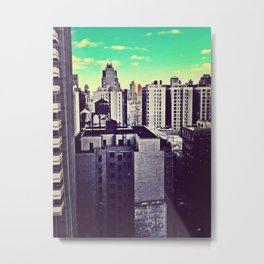 Muted Cityscape Metal Print