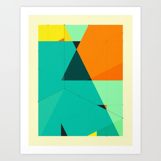 DELINEATION (128) Art Print