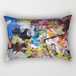 Artist palette Rectangular Pillow