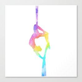 Aerial Silks Artist Canvas Print
