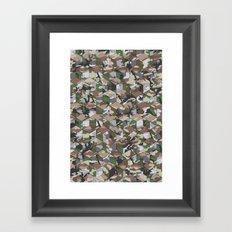 CUBOUFLAGE MULTI (MEDIUM) Framed Art Print