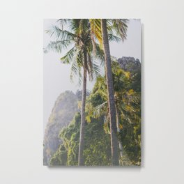 Palm Trees in Thailand Metal Print