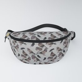 Pigeon Pattern 2 Fanny Pack