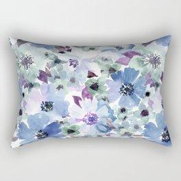 FLOWERS WATERCOLOR 20 Rectangular Pillow
