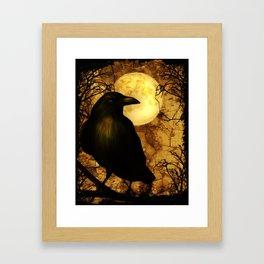 My Raven Framed Art Print
